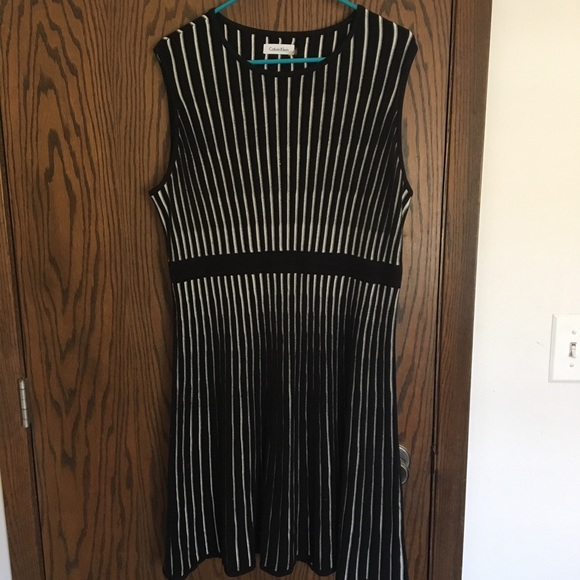 Calvin Klein Dresses & Skirts - Calvin Klein sleeveless sweater dress EUC!